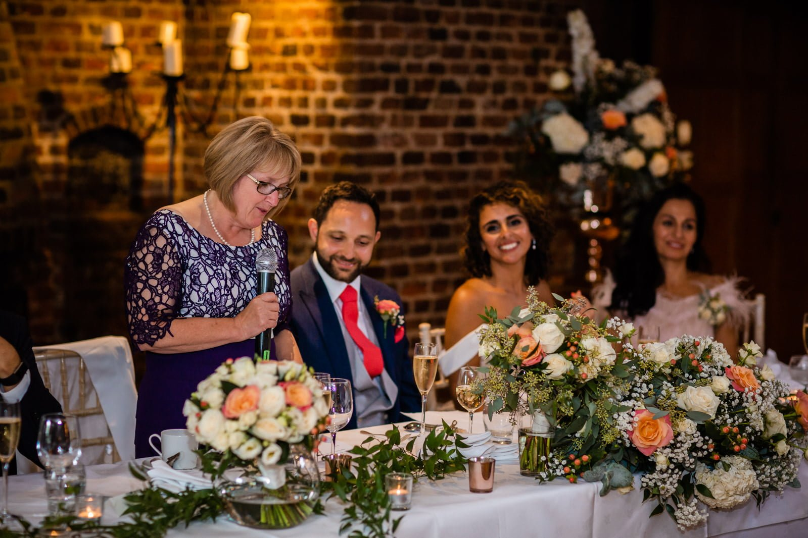 Beautiful Great Fosters Wedding - Melania & Benjamin 54