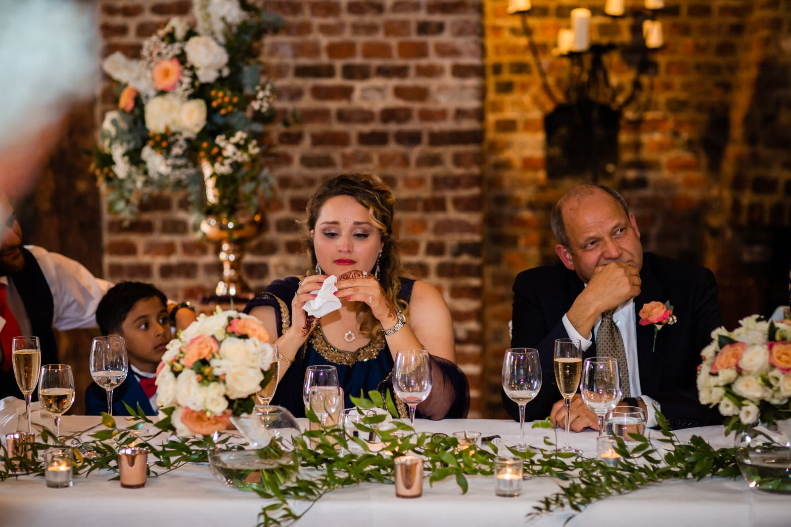 Beautiful Great Fosters Wedding - Melania & Benjamin 55