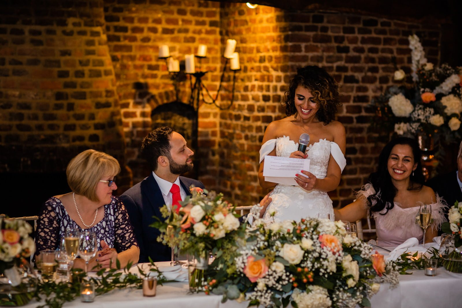 Beautiful Great Fosters Wedding - Melania & Benjamin 61