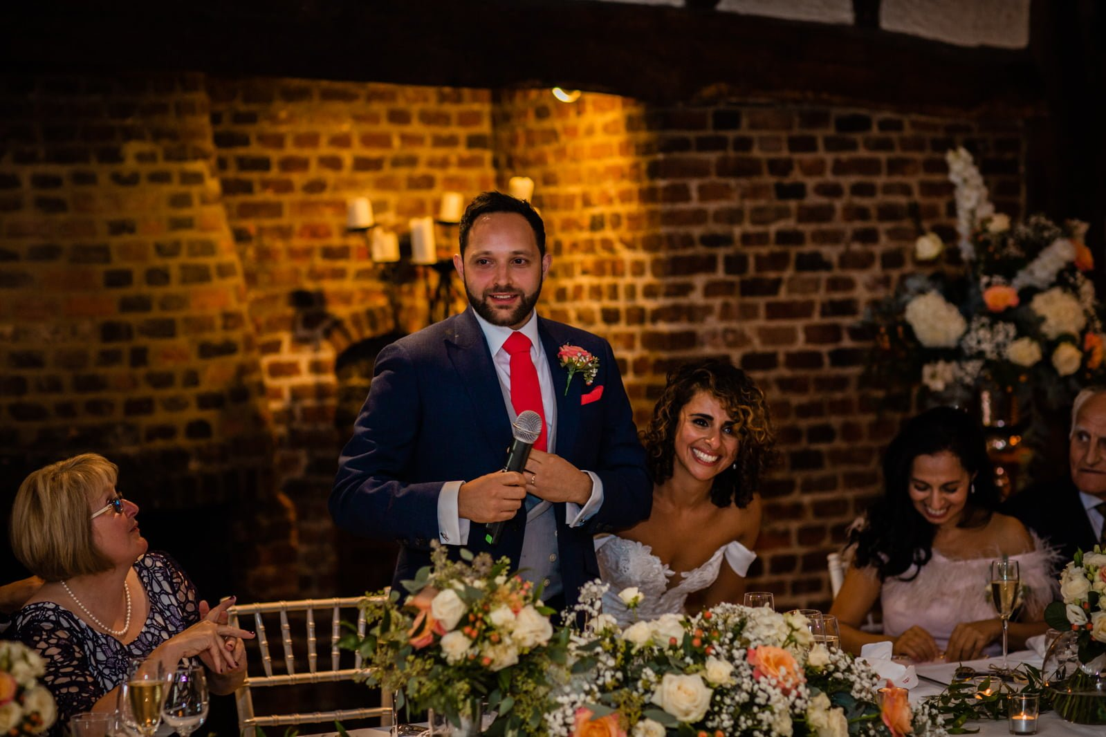 Beautiful Great Fosters Wedding - Melania & Benjamin 65