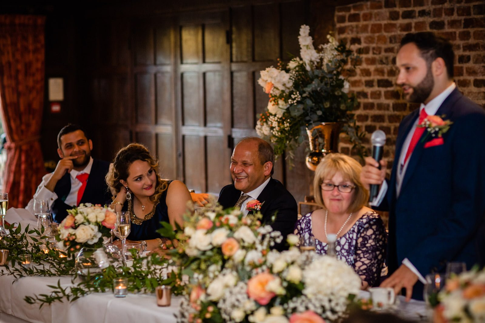 Beautiful Great Fosters Wedding - Melania & Benjamin 68