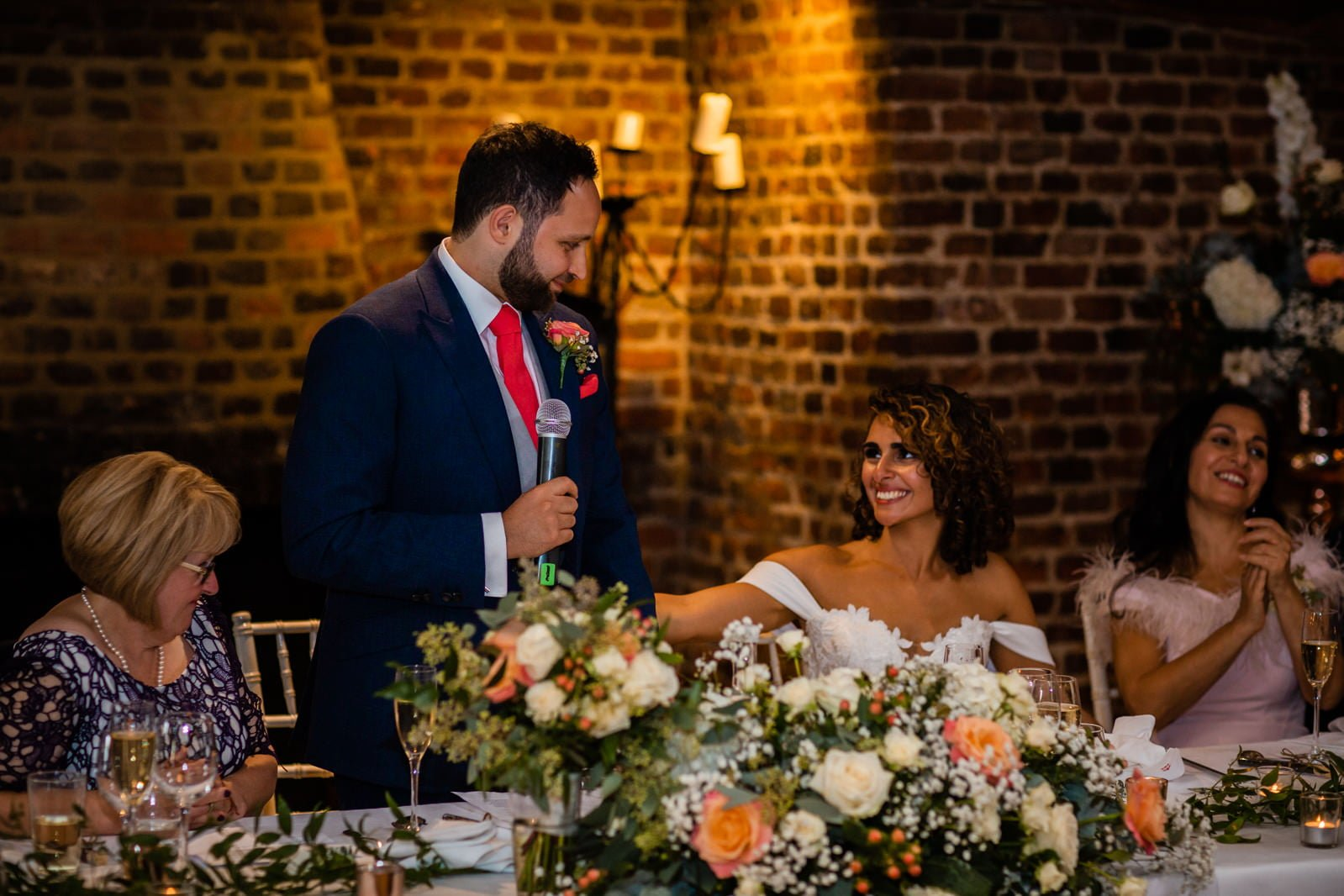 Beautiful Great Fosters Wedding - Melania & Benjamin 71