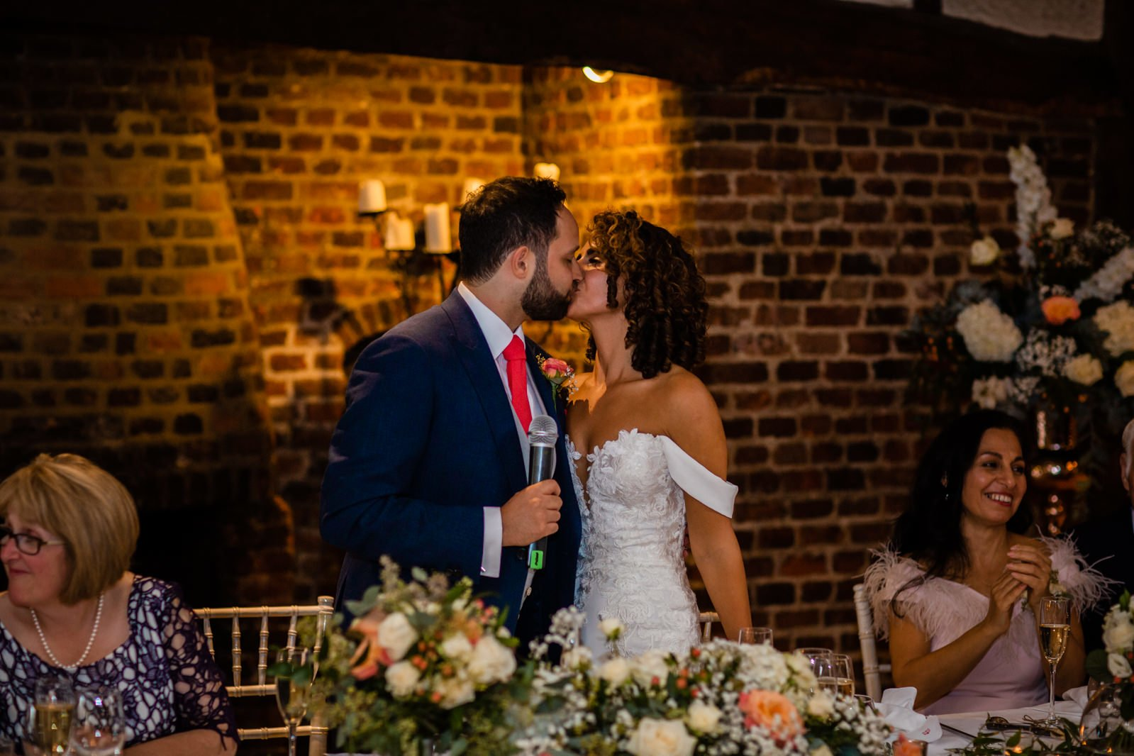 Beautiful Great Fosters Wedding - Melania & Benjamin 72