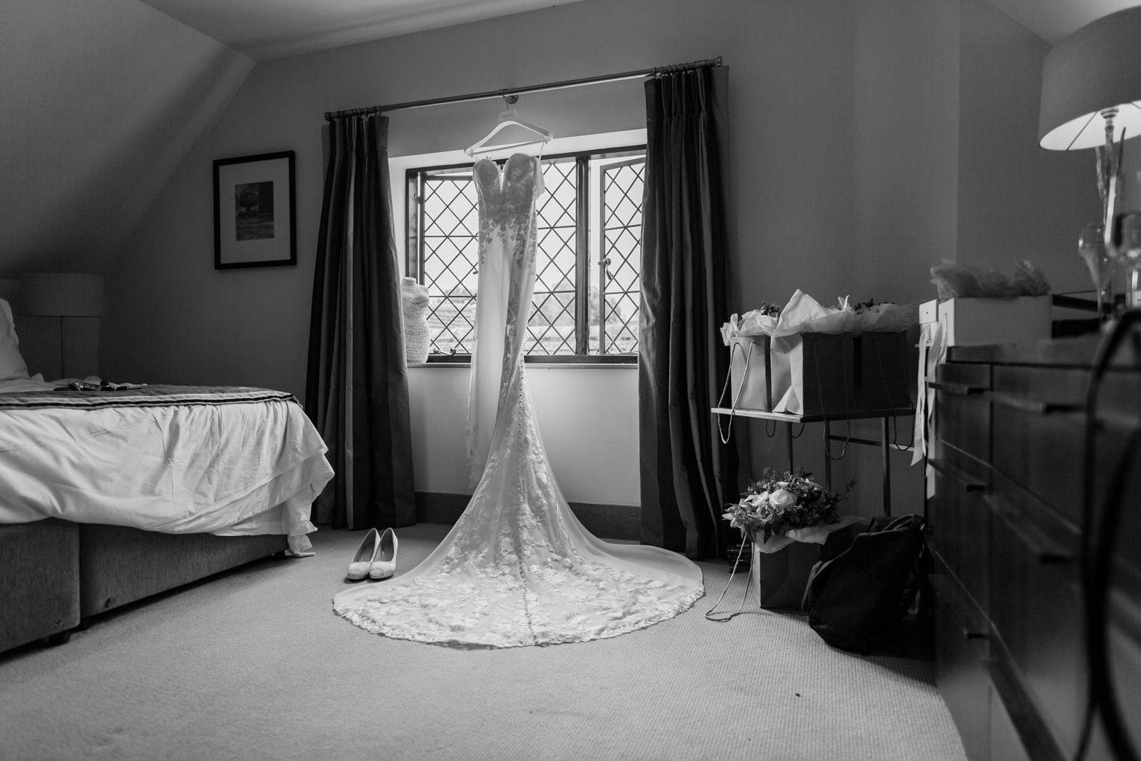 Beautiful Great Fosters Wedding - Melania & Benjamin 8