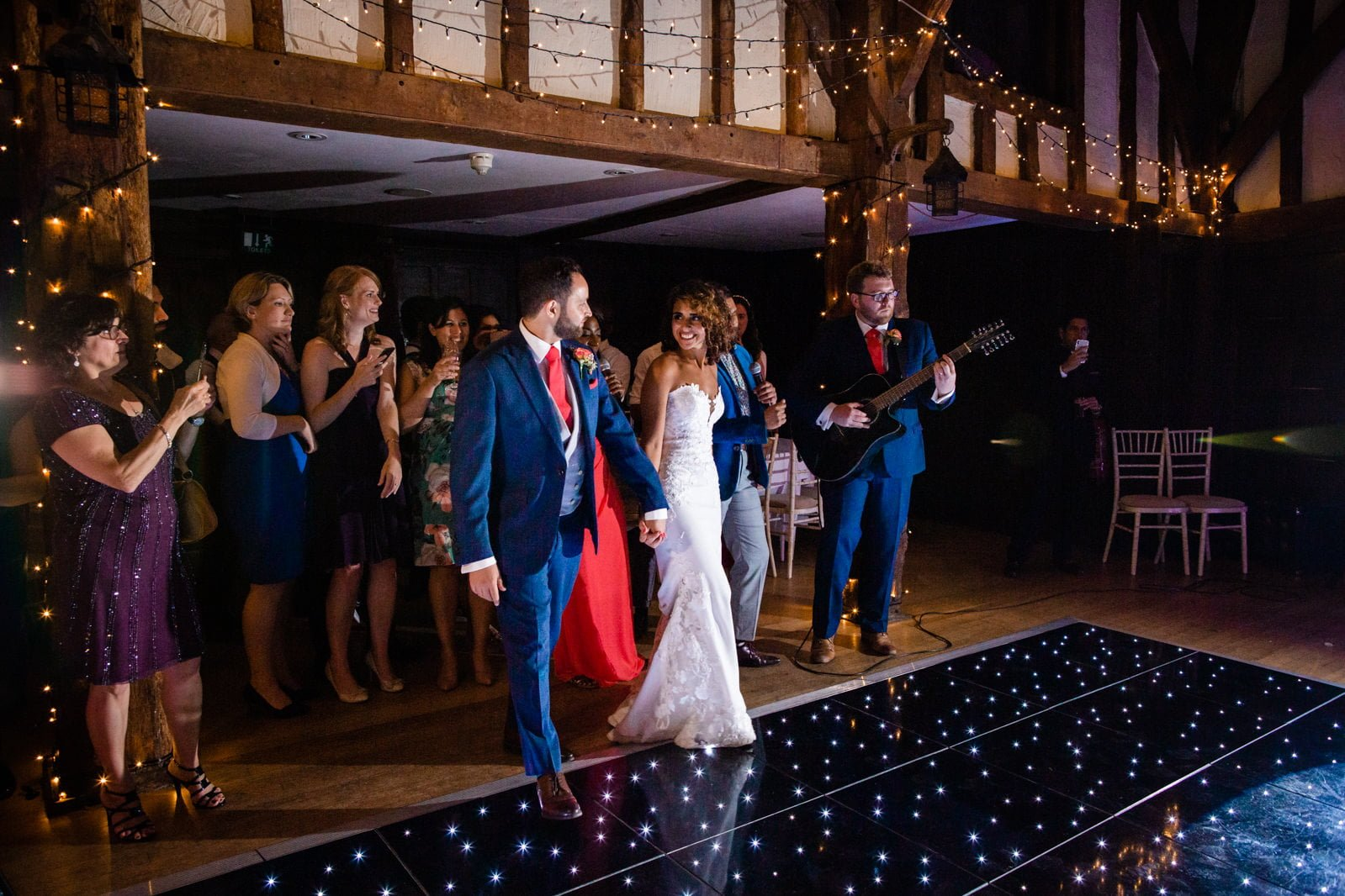Beautiful Great Fosters Wedding - Melania & Benjamin 75