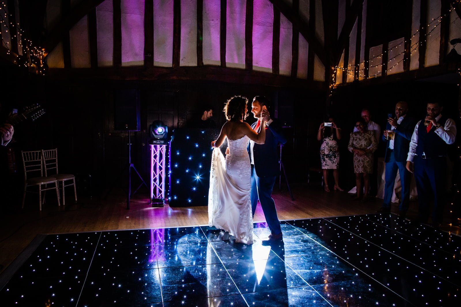 Beautiful Great Fosters Wedding - Melania & Benjamin 76