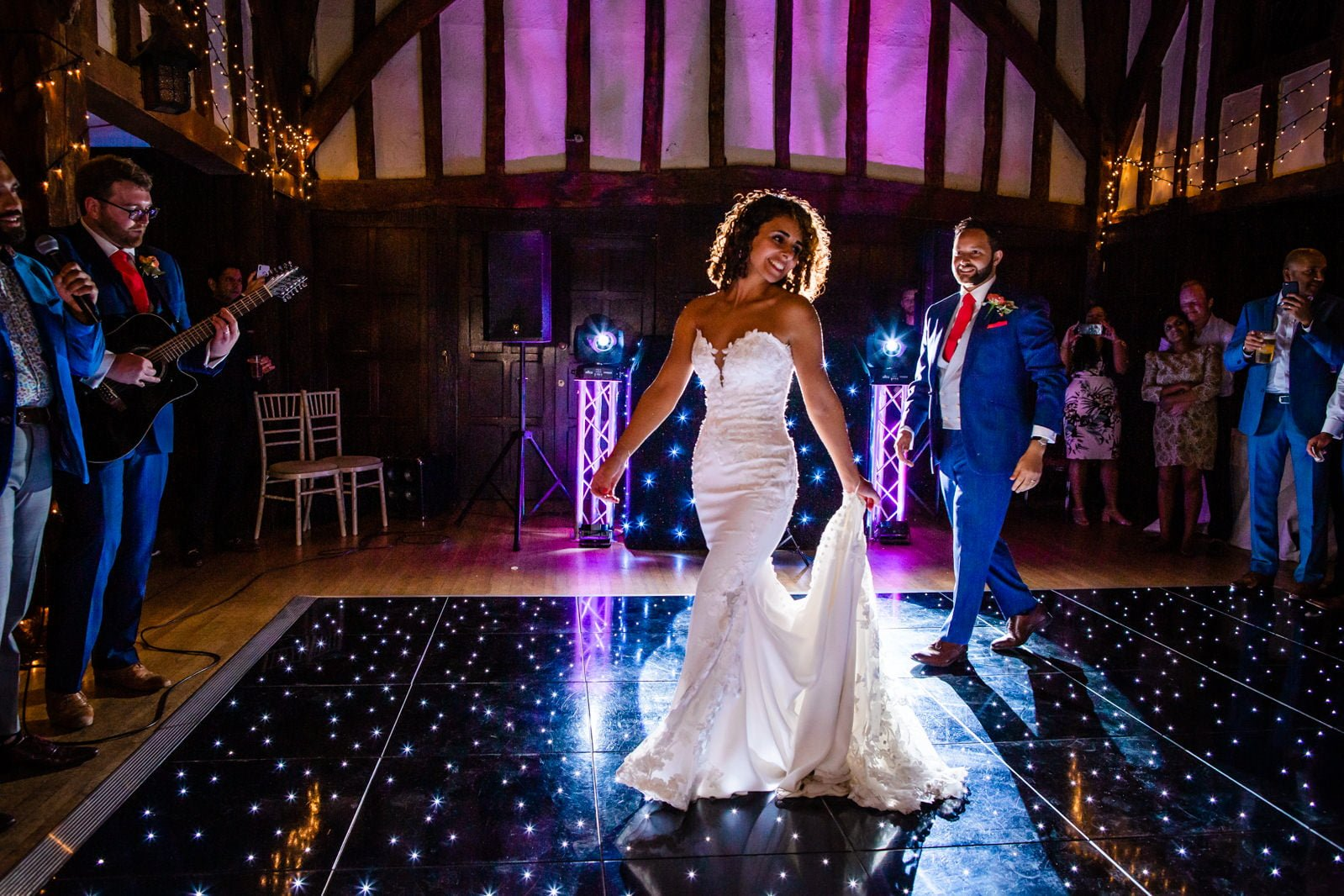 Beautiful Great Fosters Wedding - Melania & Benjamin 77