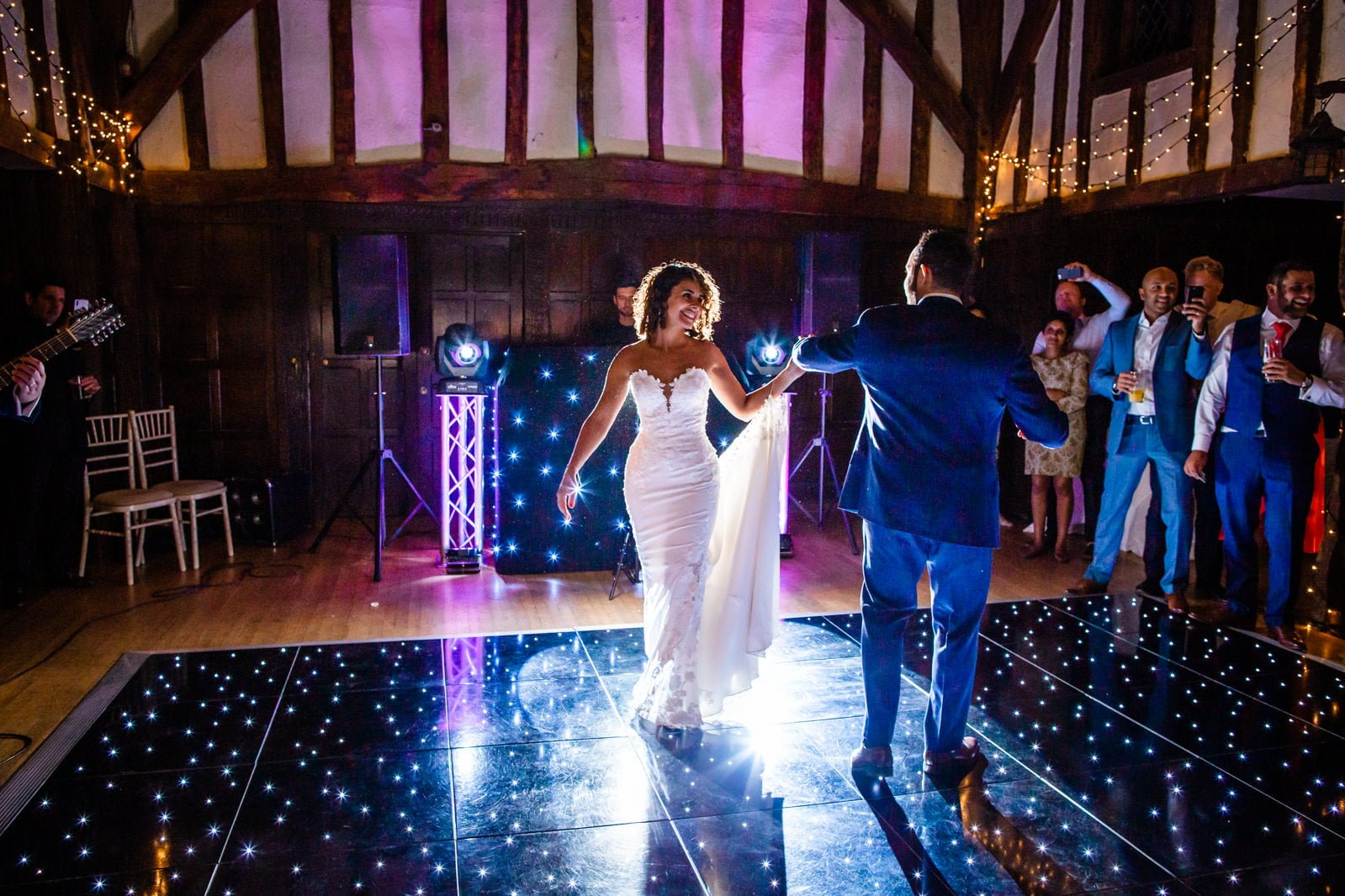 Beautiful Great Fosters Wedding - Melania & Benjamin 78