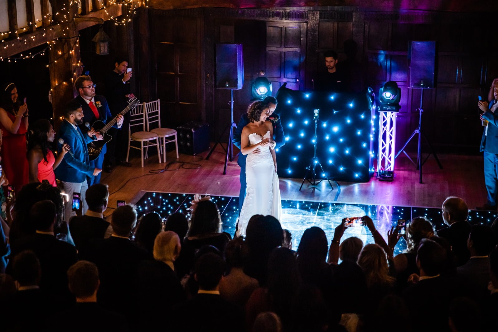 Beautiful Great Fosters Wedding - Melania & Benjamin 79