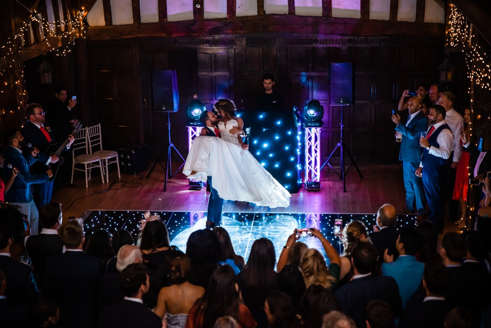 Beautiful Great Fosters Wedding - Melania & Benjamin 80