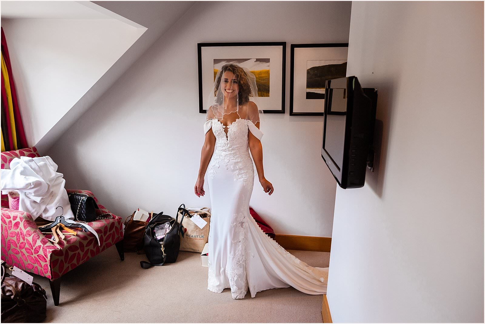 Beautiful Great Fosters Wedding - Melania & Benjamin 8