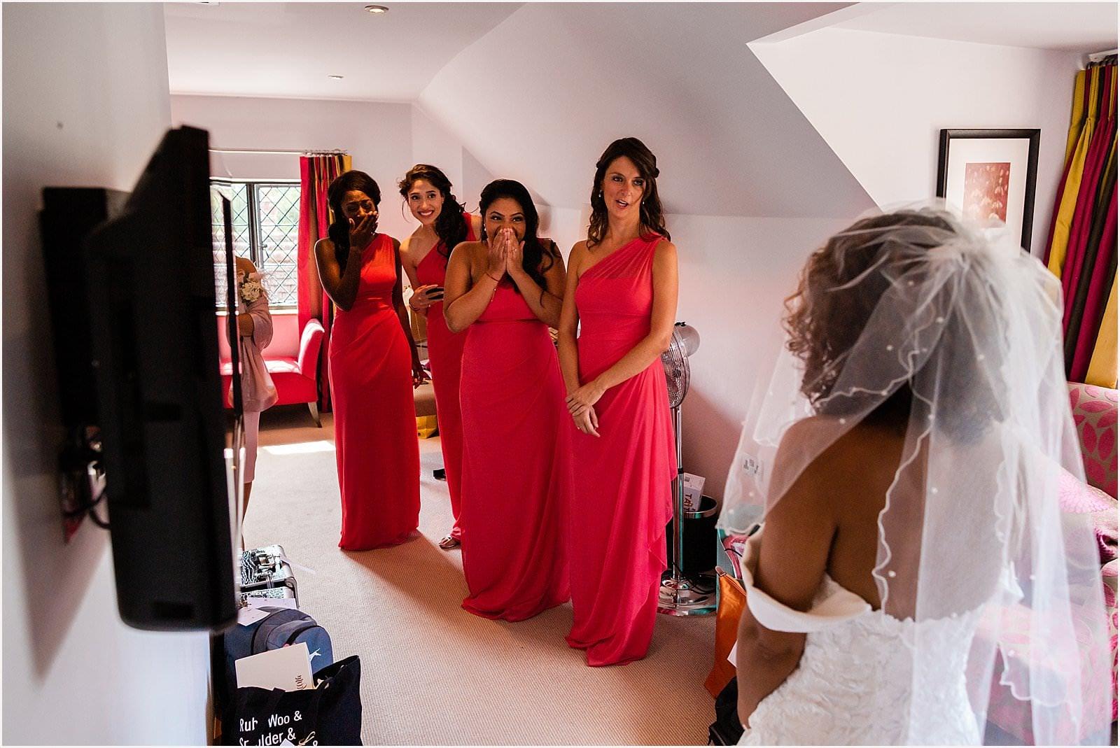 Beautiful Great Fosters Wedding - Melania & Benjamin 9