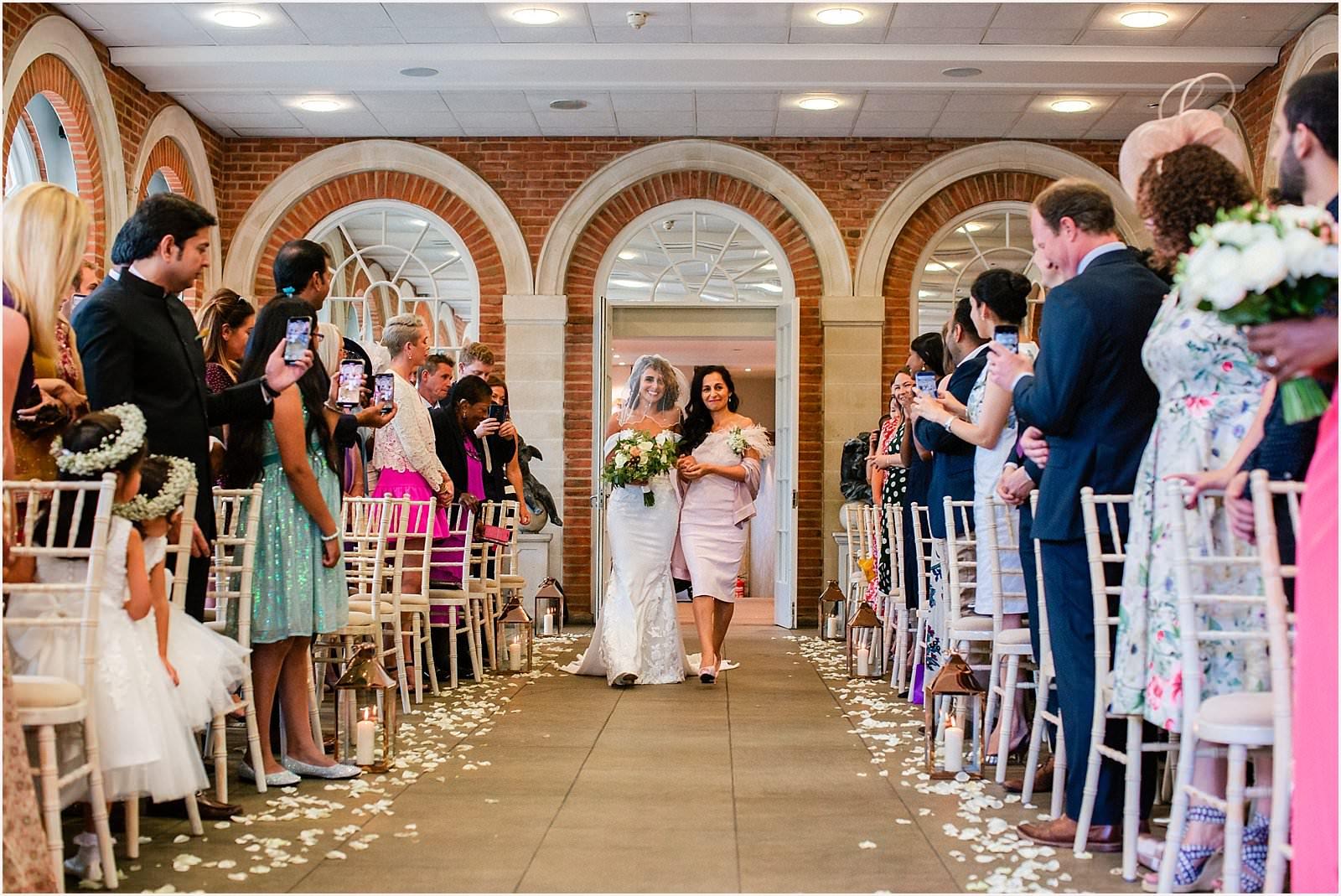 Beautiful Great Fosters Wedding - Melania & Benjamin 11