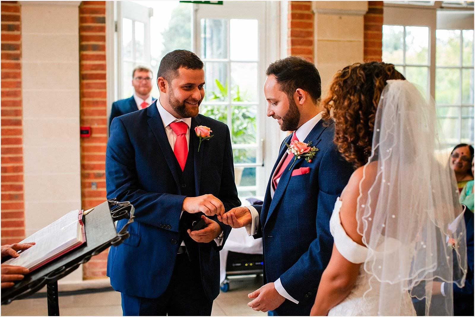 Beautiful Great Fosters Wedding - Melania & Benjamin 13