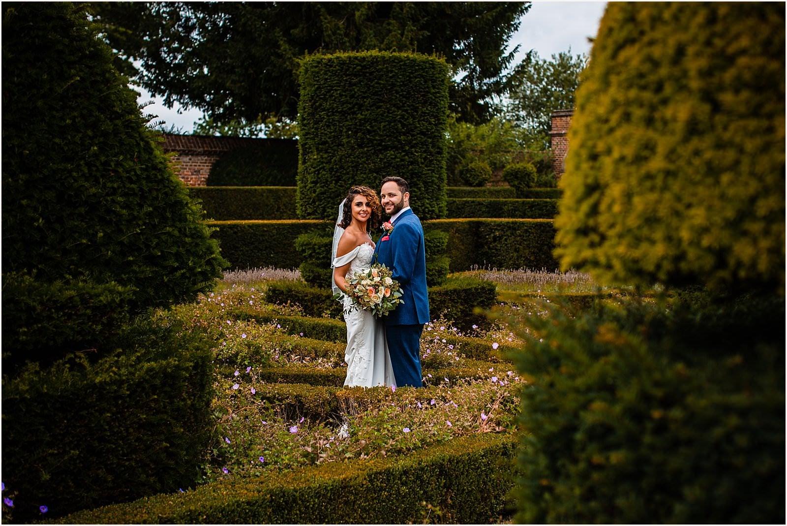 Beautiful Great Fosters Wedding - Melania & Benjamin 32