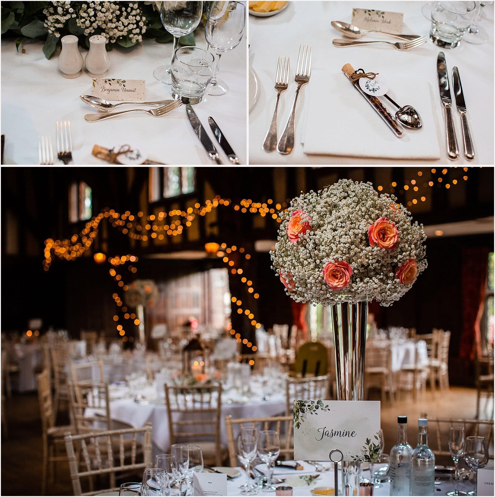 Beautiful Great Fosters Wedding - Melania & Benjamin 36