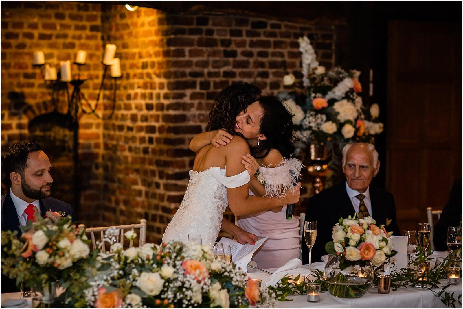 Beautiful Great Fosters Wedding - Melania & Benjamin 41