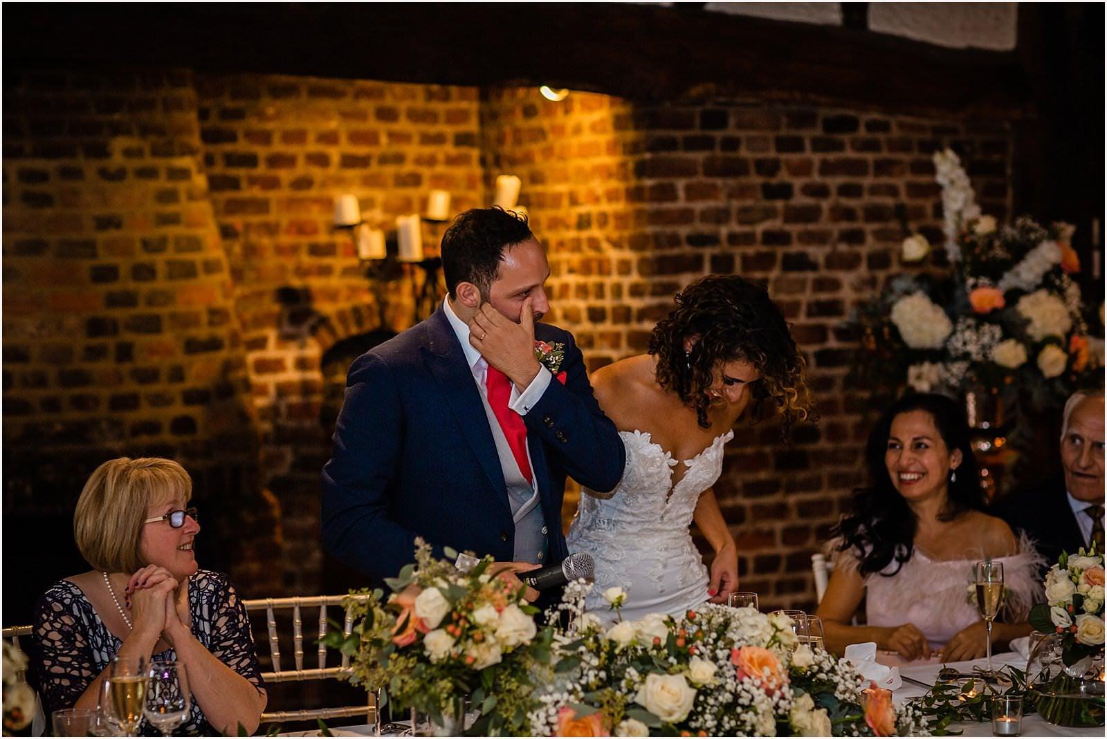 Beautiful Great Fosters Wedding - Melania & Benjamin 49
