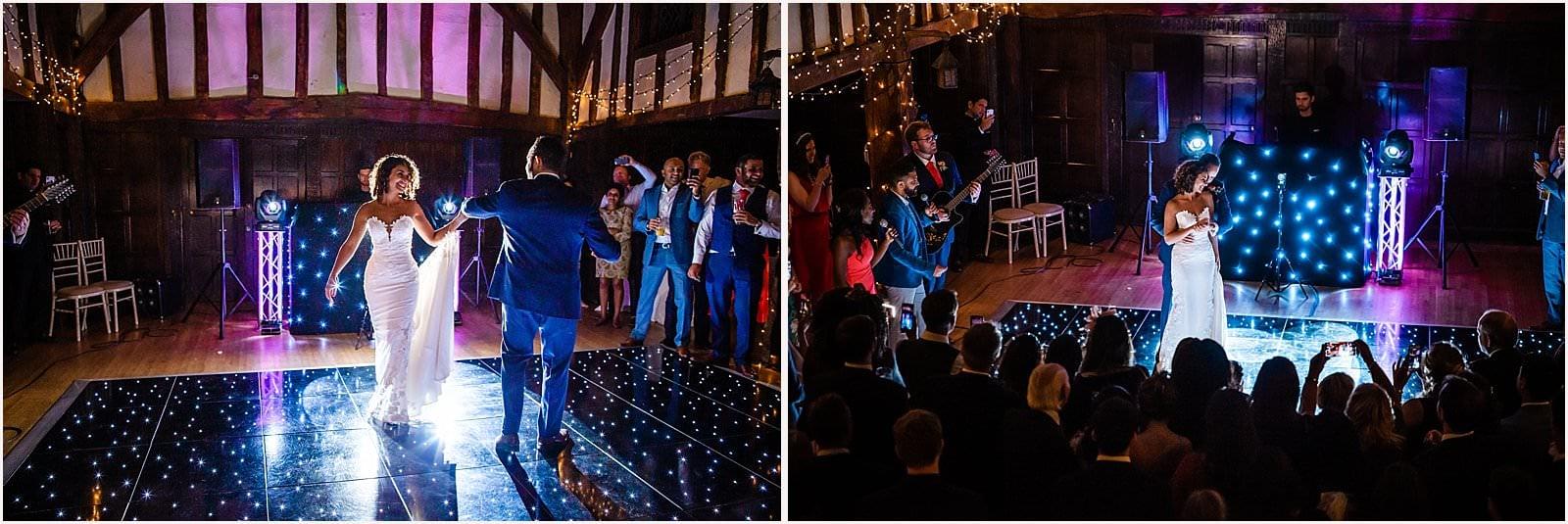 Beautiful Great Fosters Wedding - Melania & Benjamin 60