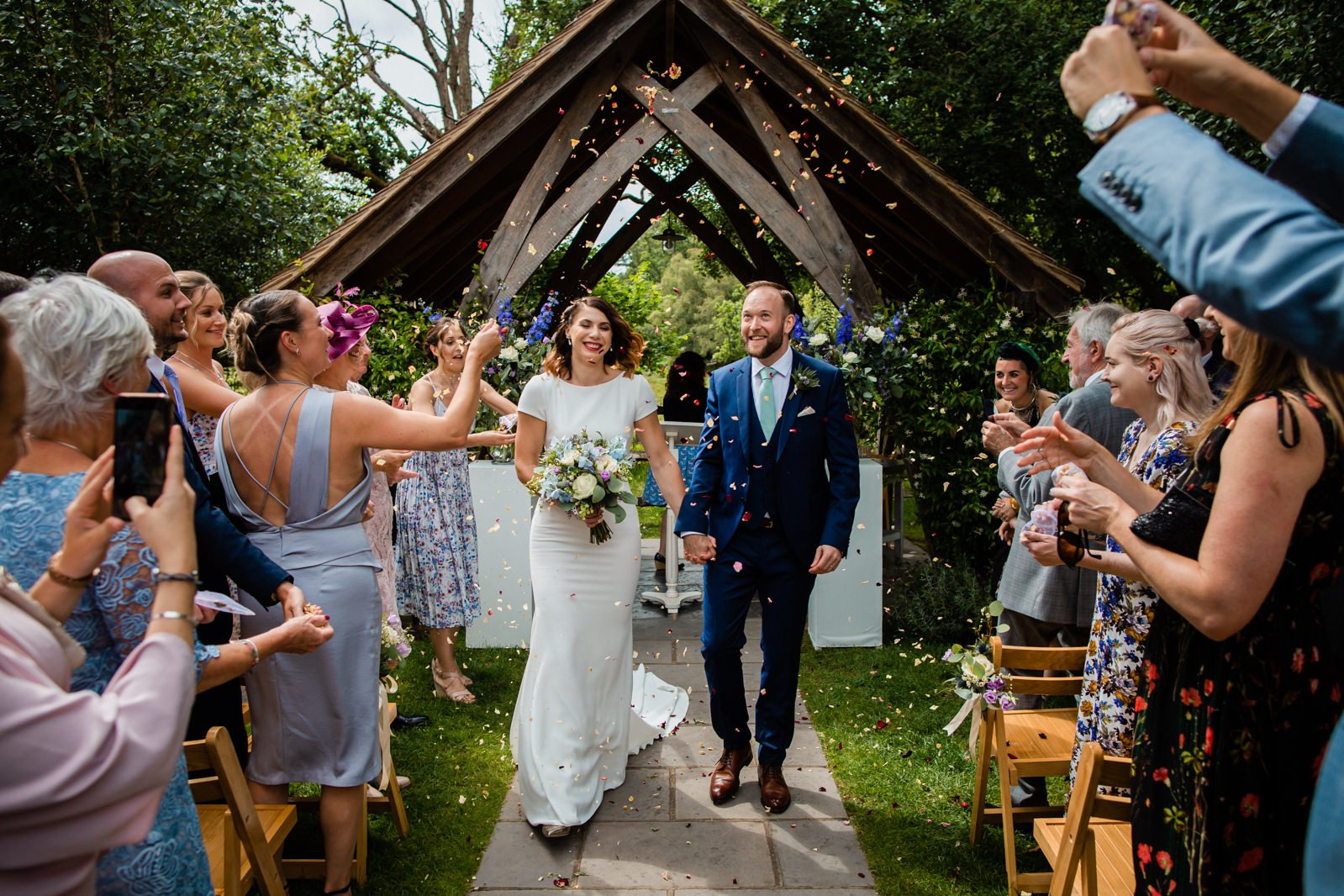 Millbridge Court Wedding - stunning summer wedding - wedding photography 61
