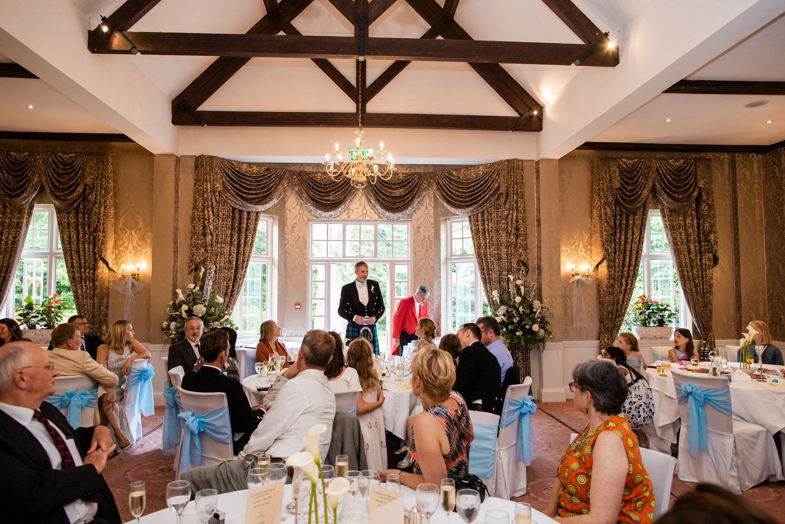 Beautiful Tylney Hall Wedding | Laura & Innes 43