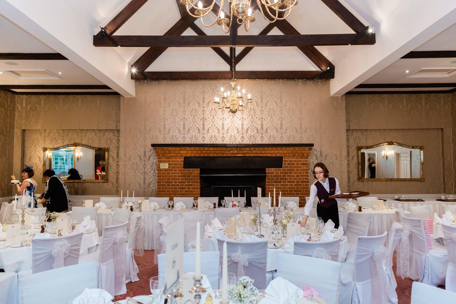 Glamorous Tylney Hall Wedding Photos | Hayley & Stephen 140