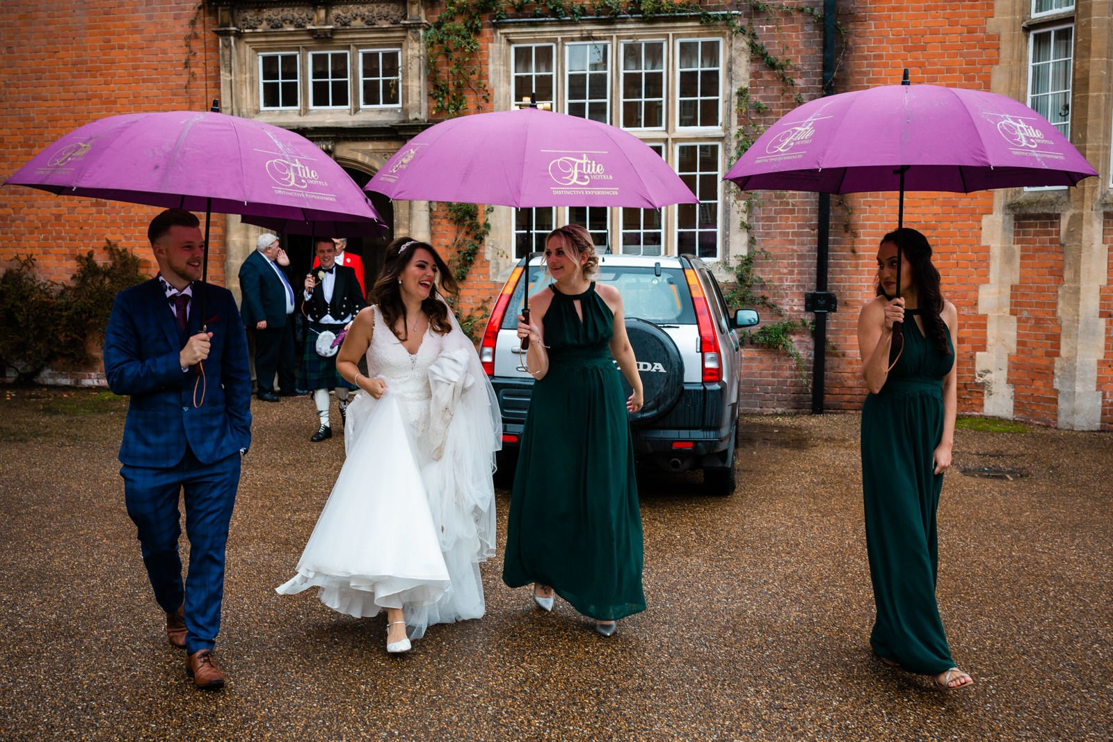 Glamorous Tylney Hall Wedding Photos | Hayley & Stephen 143