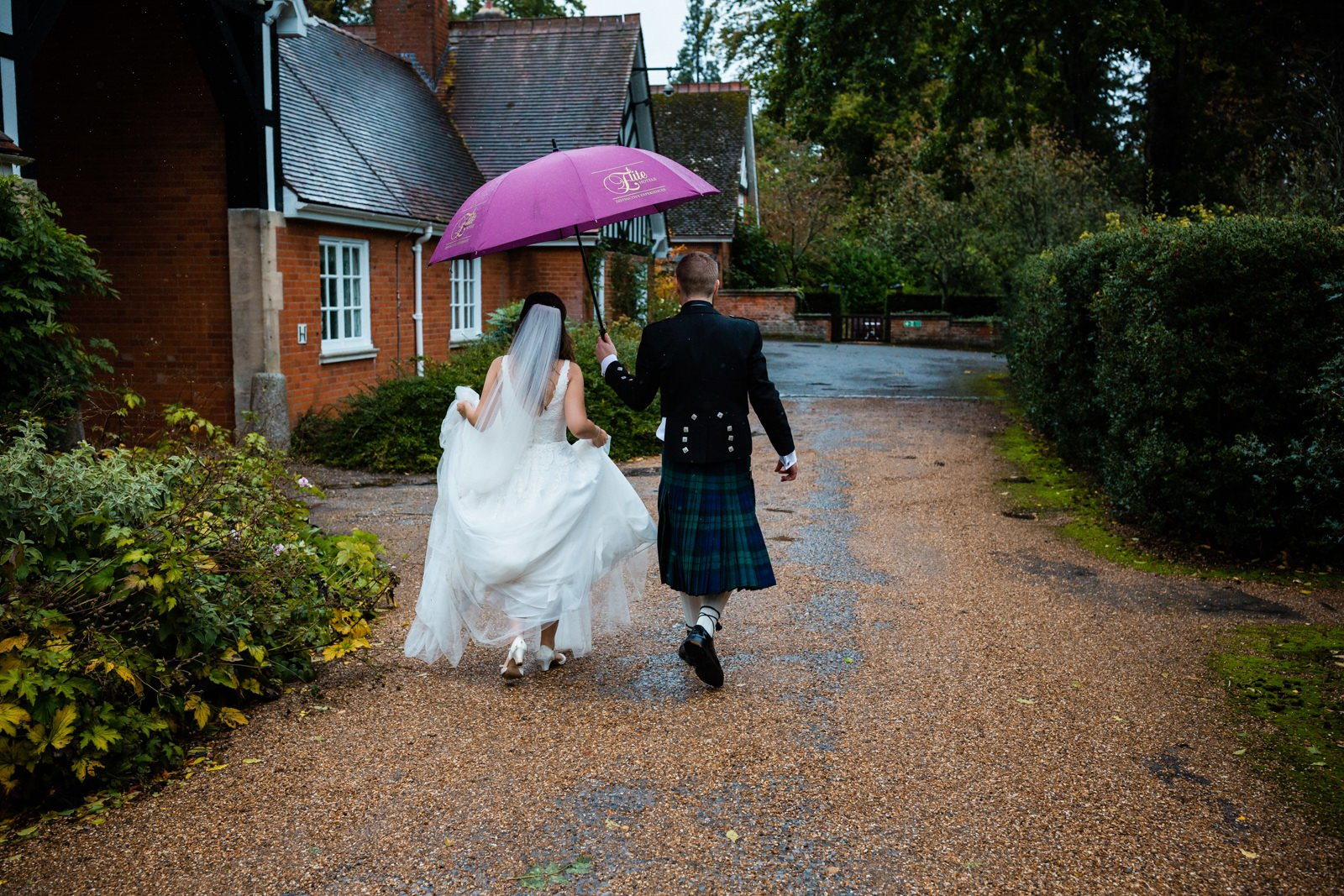 tylney hall wedding photos