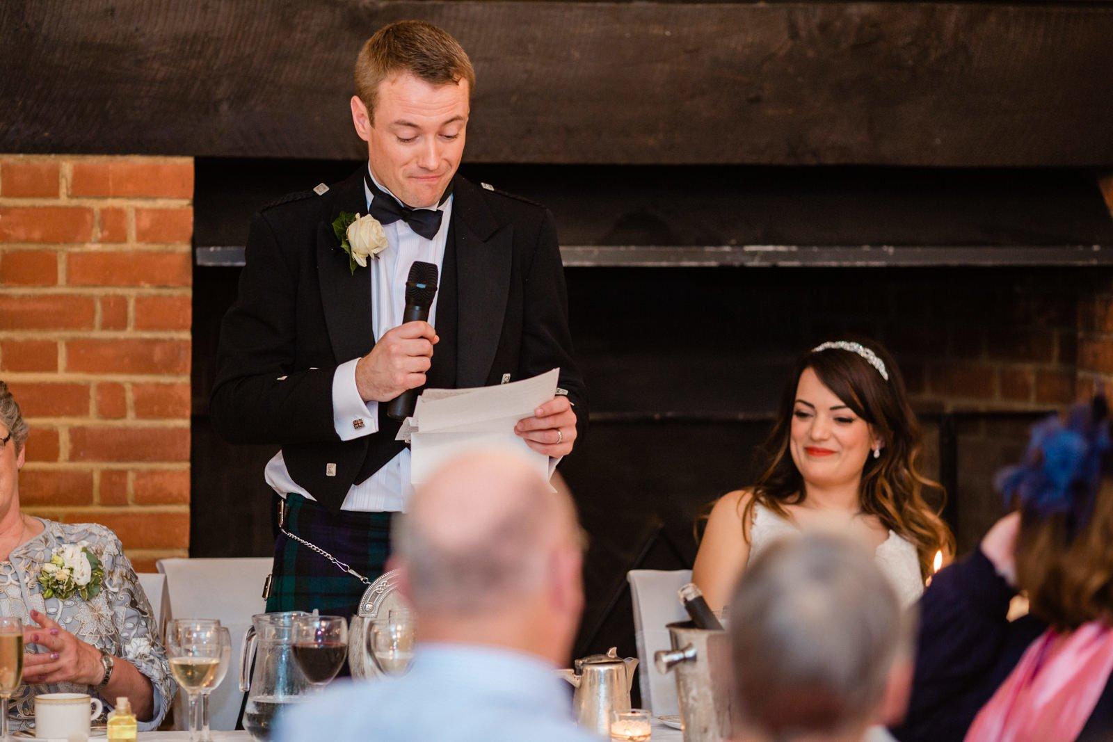 Glamorous Tylney Hall Wedding Photos | Hayley & Stephen 149