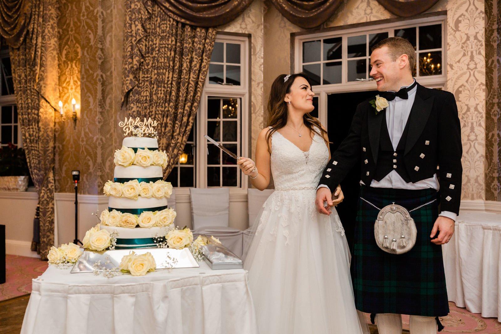 Glamorous Tylney Hall Wedding Photos | Hayley & Stephen 152