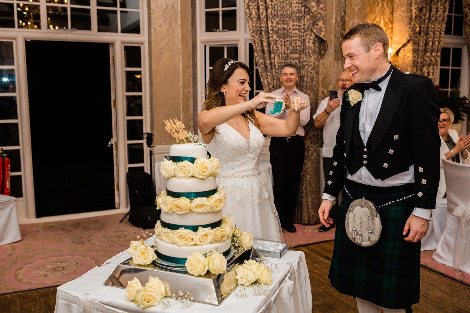 Glamorous Tylney Hall Wedding Photos | Hayley & Stephen 153