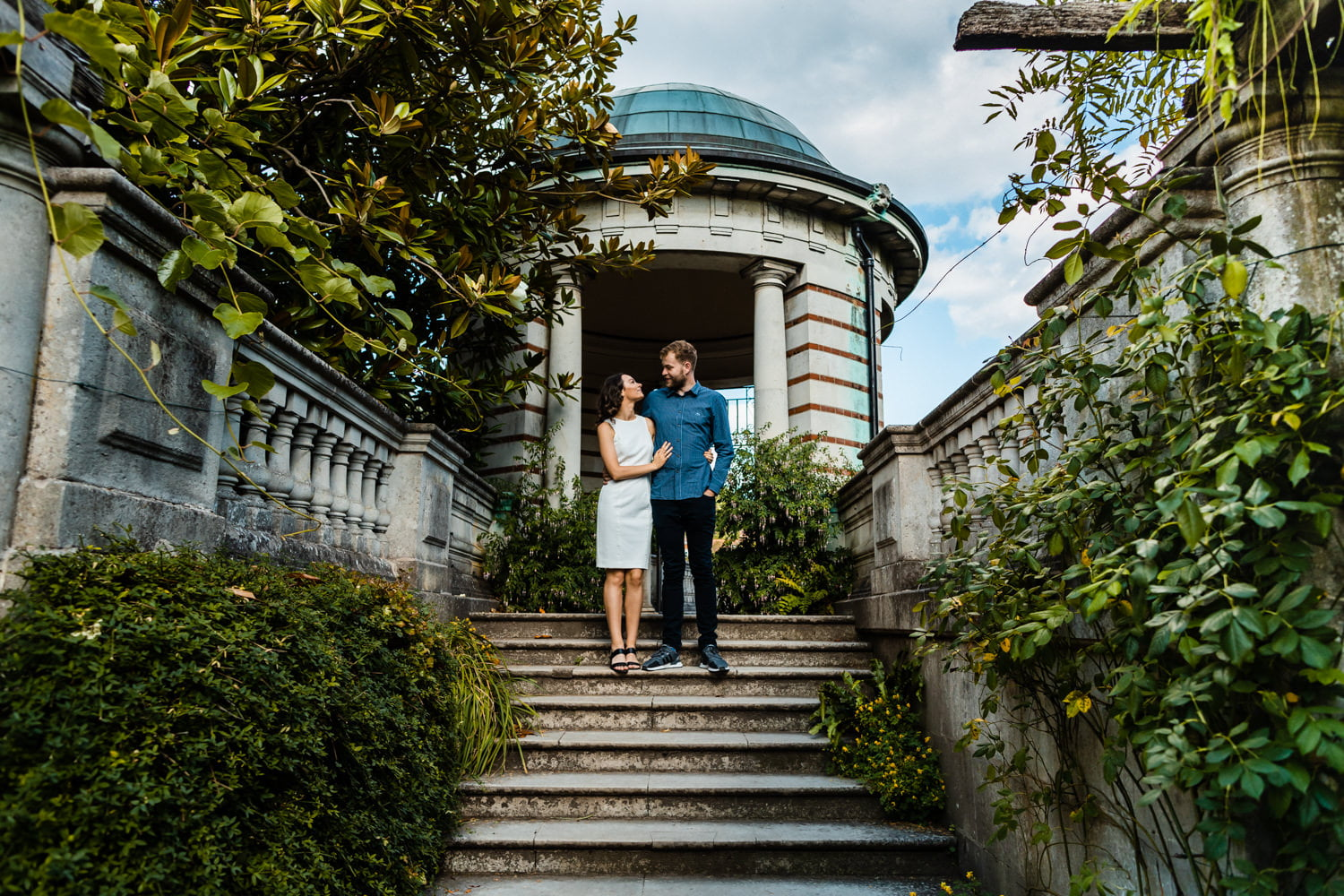 Hampstead Wedding Photographer - Pergola Hill Gardens Engagement Session 8