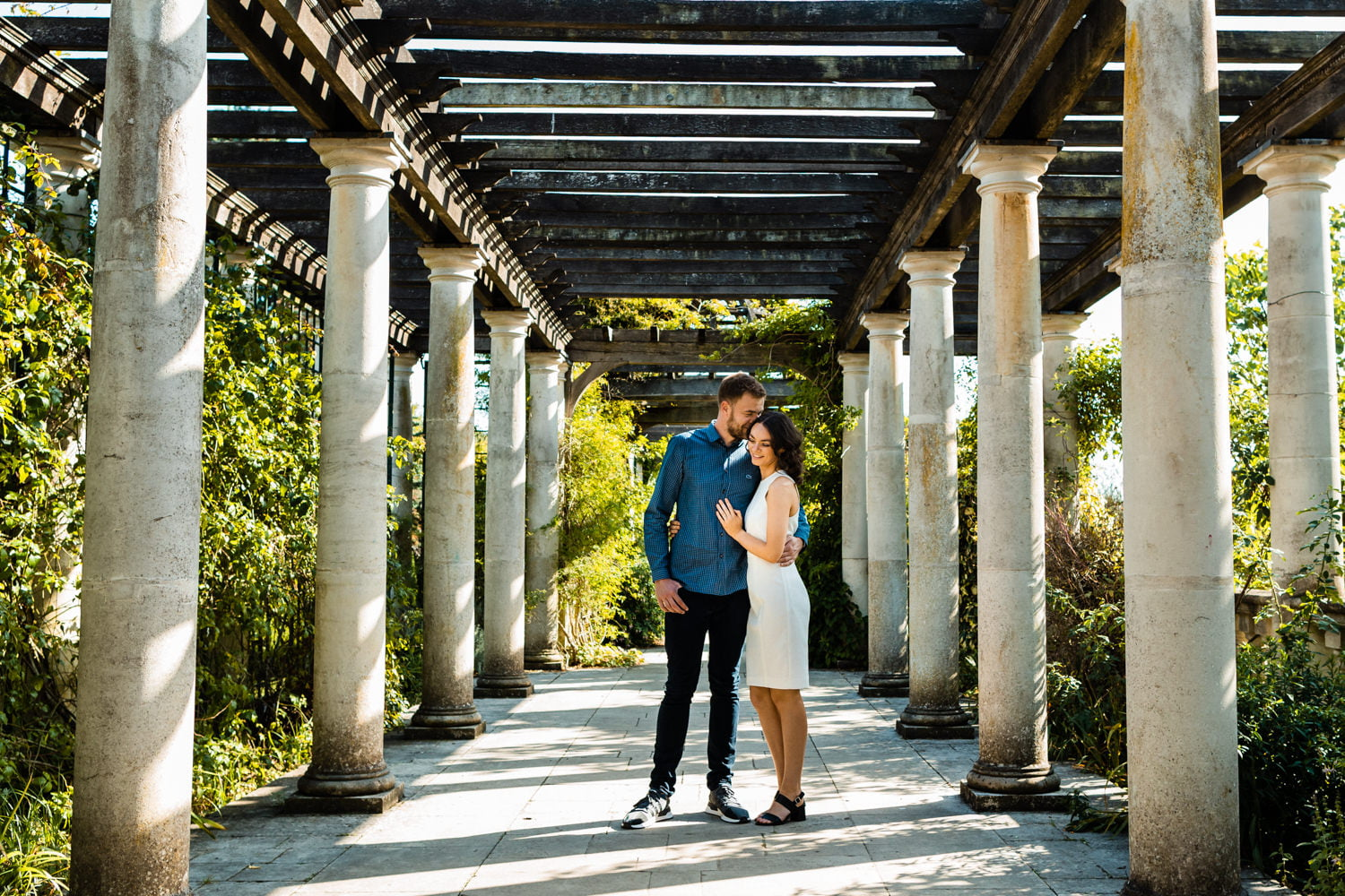 Hampstead Wedding Photographer - Pergola Hill Gardens Engagement Session 7
